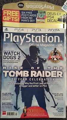PLAYSTATION OFFICIAL MAGAZINE UK - ISSUE 126  2016 Tomb raider special
