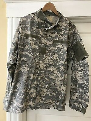 ACU Shirt/Coat X Large Reg USGI Digital Camo Cotton/Nylon Ripstop Army Combat