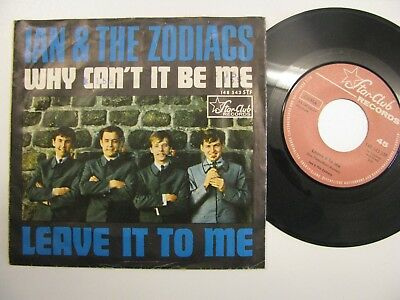 "Ian and the Zodiacs Starclub 7"" Why can´t it be me"