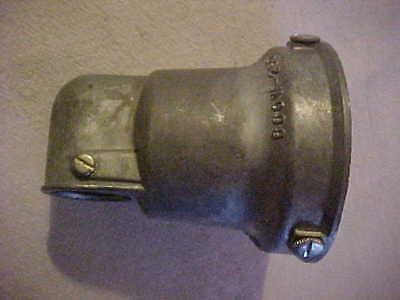 NEW OLD STOCK NOS Industrial Holphane Era Gas Station Type Leviton Angle Socket