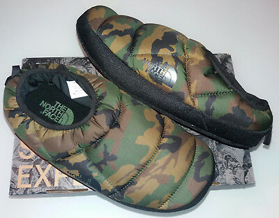 The north face LARGE (42 45) mimetico camo supreme woodland pantofole natale 4521a34a9c1c
