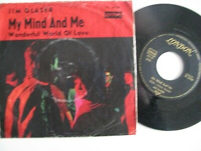 """Jim glaser 7"""" My Mind and me Beat Groupcover"""