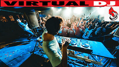 Virtual DJ Pro 2018 Twin Licence For Two Computers Windows Download Only!!!