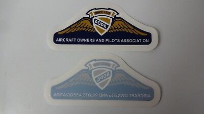 "AOPA Aircraft Owners and Pilots Association Decal / Sticker 5 1/5"" x 2"""