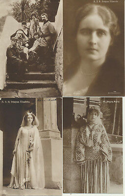 4 ROMANIA Royalty RPPC Maria Elisabeta Family LOT 10