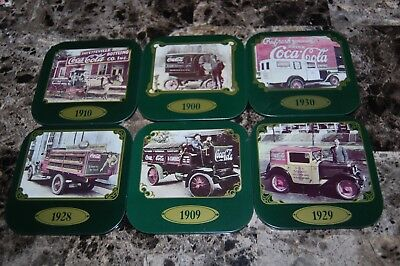 Coca Cola Coaster Lot of 6