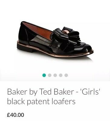 02a51a0fc06ef7 TED BAKER BOOTS Girls Infant Size 10 Leather Shoes Black - £10.50 ...