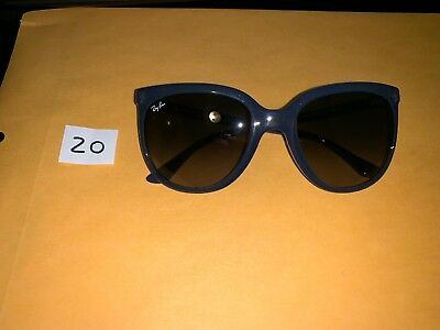 ce77d87118 Ray-Ban RB4126 Cats 1000 6303 71 Blue Frame Light Blue Gradient Lens  Sunglasses