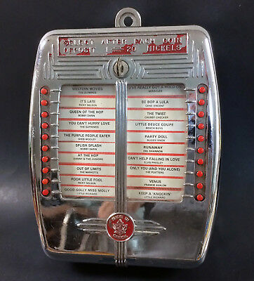 Rare SEHL Canadian Version AMI 1939 WallBox for Streamliner Signing Towers Etc.