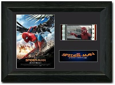 Spider-Man: Homecoming 35 mm Framed film cell display stunning Tom Holland