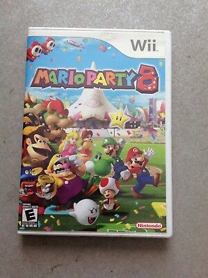 CASE ONLY Wii Mario Party 8 no game disc
