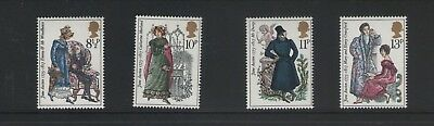 Jane Austen Birth Bicentenary 1975  Set Of Royal Mail  Mint Gb Stamps Free P&p
