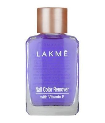 27ml Lakme Nail Polish Remover With Vitamin E Nail Varnish Remover Soak Off