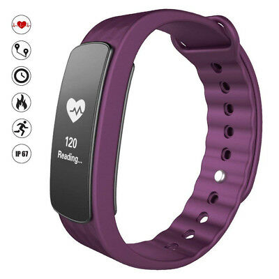 (Purple) - SZPLUS Fitness Tracker HR, Fitnes Tracker I3HR Smart Bracelet