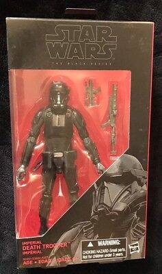 """Star Wars The Black Series Imperial Death Trooper #25 6"""" Action Figure 2016 NEW"""