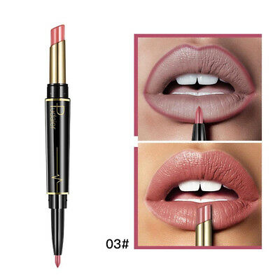 (C) - TAOtTAO Double-end Lasting Lipliner Waterproof Lip Liner Stick Pencil 16