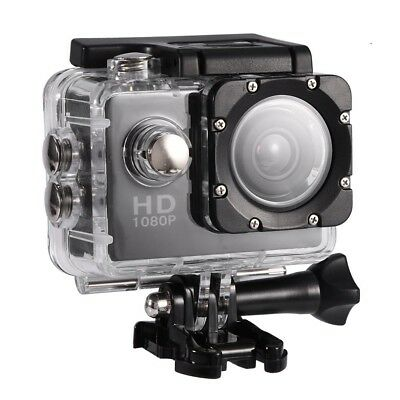 (Black) - VBESTLIFE Action Camera, Waterproof Cam 5.1cm LCD Screen LCD Screen