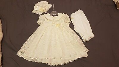 Little Darlings christening/special occasion gown