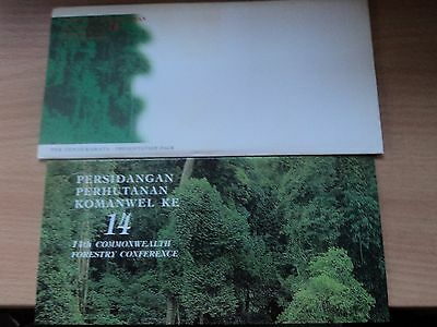 Malaysia 1993 13 Sep Presentation Pack 14th Commonwealth Forestry Conference
