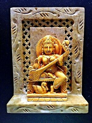 "NEW 4x3"" Saraswati Goddess of Poetry Knowledge Music Arts Science FREE SHIPPING!"