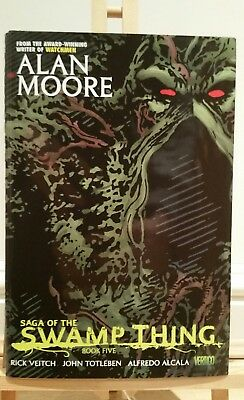 Alan Moore Saga of the Swamp thing book five Bissette Hardcover Hc Volume 5 new