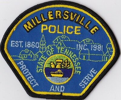 Millersville  Police Tennessee TN Police patch