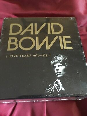 David Bowie 5 Five Years 1969 - 1973 12 CD box set NEW/SEALED
