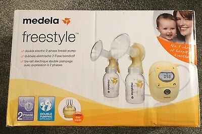 BNIB Medela Freestyle double electric breast pump RRP 329.99 STILL SEALED