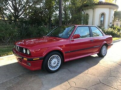 1989 BMW 3-Series 325IX 1989 BMW 325IX All-Wheel Drive E30 Coupe Manual Rare