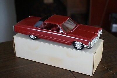 Old 1968 Imperial Promo Car Mint In Box Flame Red