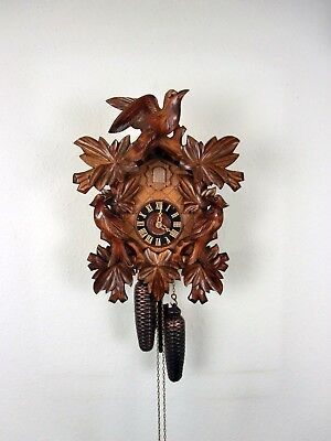 8 Day  Large  'Regula'  Mechanical Cuckoo Clock, Original  Black Forest, New