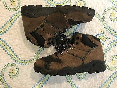 b2fff9e8b26 COLEMAN WOMEN'S HIKING Boots Size 8 Rugged Lace Up - Brown and Forest Green  A80