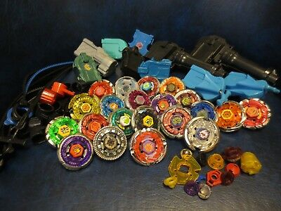 Beyblade Metal Battle Tops Lot Of  Mixed Pieces