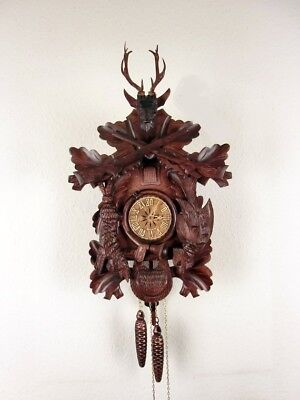 Large  'Regula'  Mechanical Cuckoo Clock, Original  Black Forest New
