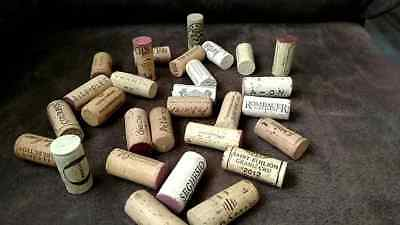 NATURAL Used Wine Corks Lots 1 5 10 20 30 40 50 100 Christmas Rustic Wedding