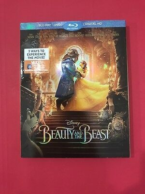 Beauty and the Beast Live-Action (2017) w/ Slipcover [Disney Blu-Ray] BUY 3 GET1