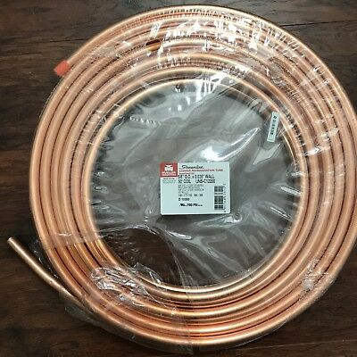 "5/8"" OD x 50 ft. Copper Refrigeration Tubing Coil MUELLER INDUSTRIES (New)"