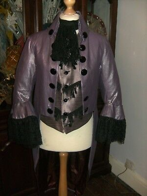Mens Regency Style Period Prince Charming Costume Theatre Stage Show Pantomime