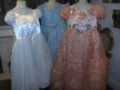Childrens Pantomime Princess Costumes By Homburgs X 3 Theatre Stage Show Panto