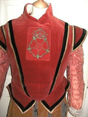 Mens Elizabethan Period Beefeater By English National Opera Gloriana Theatre