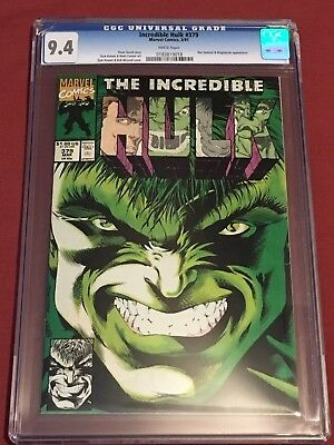 INCREDIBLE HULK 379 CGC 9.4  Case is Cracked  NO RETURNS