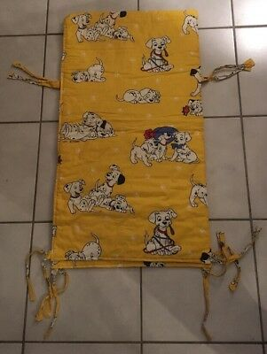 DISNEY CTI FRANCE Vintage : TOUR DE LIT 101 Dalmatiens Bedding No Mickey