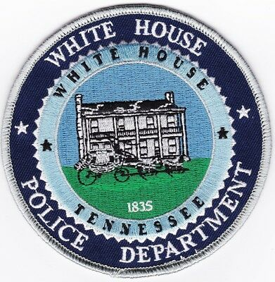 White House Police Department Police Patch Tennessee TN