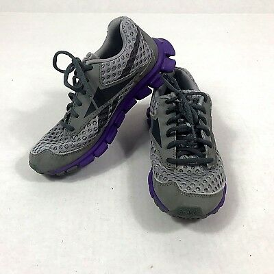 f9cf6b44ac0 Reebok Women s Shoes Size 6.5 Smooth Flex Gray Purple Pink Running Athletic