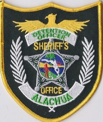 Alachua Sheriff's Office Detention OFFICER Police patch Florida FL