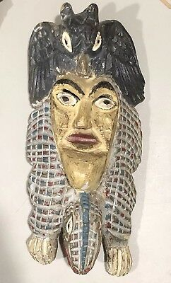 Antique Native So. American or Mexican Ceremonial Dance Mask