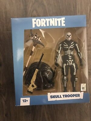 """IN HAND - Fortnite SKULL TROOPER SOLD OUT 7"""" Action Figure 🔥🔥HOT ITEM🔥🔥"""