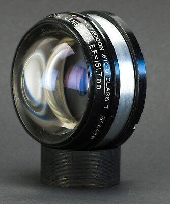 "Rare Bausch & Lomb Class T Metrogon 151.7mm (6"") f/10 Wide Aerial Lens Prototype"
