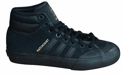 pretty nice 8fcca 0aa54 Adidas Originals Matchcourt High RX2 Mens Lace Up Trainers Black BY4103