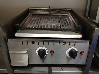 2 Burner Gas Charcoal Grill